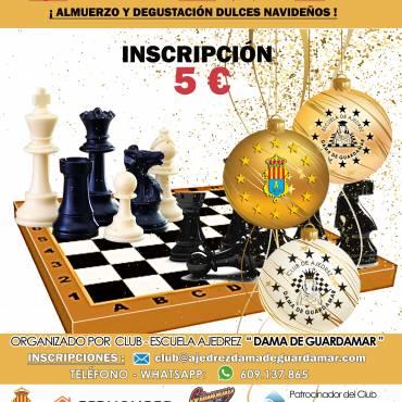 Torneo de ajedrez – Navidad 2019 – Domingo 15/12/2019