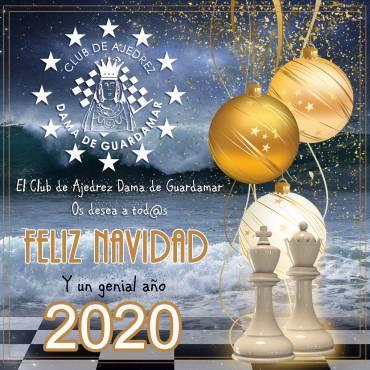 FELIZ NAVIDAD Y UN GENIAL AÑO 2020 PARA TOD@S