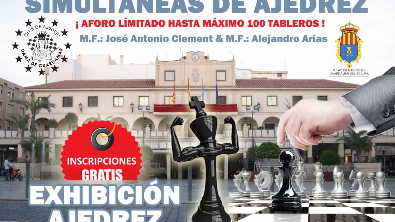 Simultáneas de ajedrez – M.F CLEMENT & M.F. ARIAS