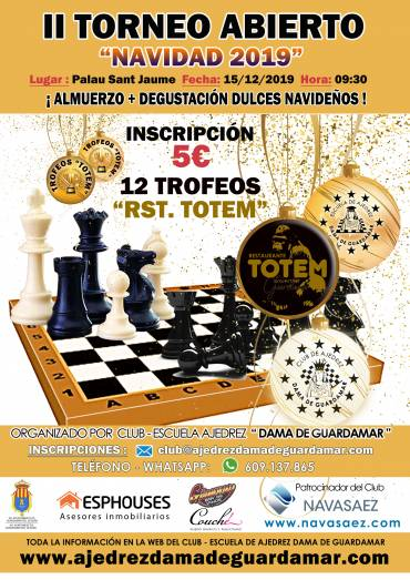 Crónica «II TORNEO DE NAVIDAD 2019»