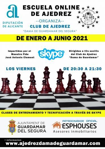 Clases de Ajedrez Online de enero a junio 2021