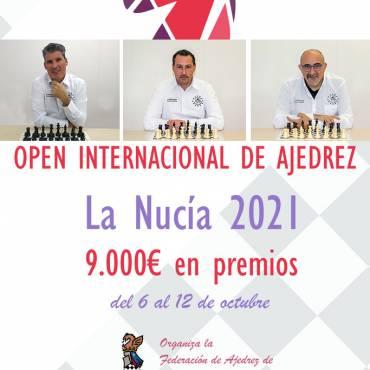 3 jugadores del «Dama de Guardamar» en el Open Internacional «La Nucía 2021»